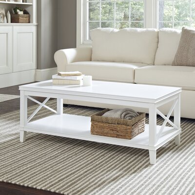 Larksmill Coffee Table Finish: White