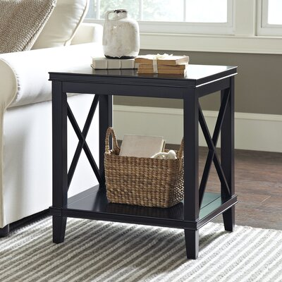 Larksmill Side Table Finish: Black