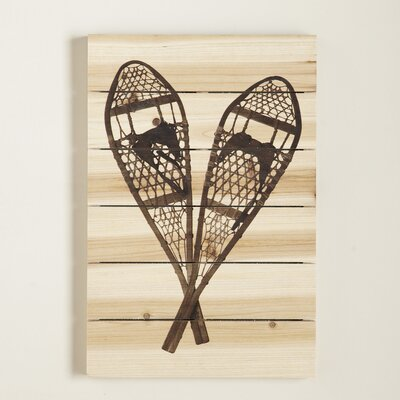 Snowshoe Wall Art