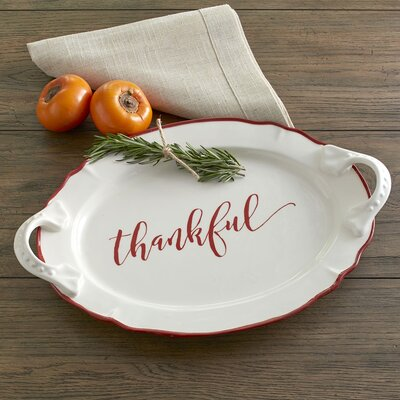 Thankful Serving Platter