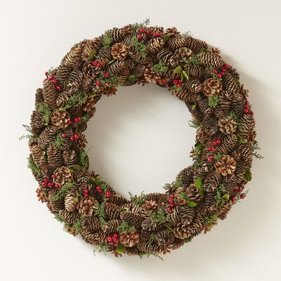 Gathered Pinecones Wreath