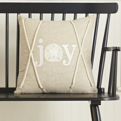 Joy Coastal Pillow Cover