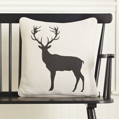 Elk Silhouette Pillow Cover