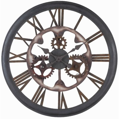 Inner Workings Oversized Wall Clock