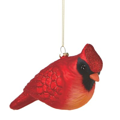 Plump Cardinal Ornament