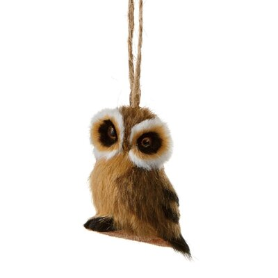 Fuzzy Owl Ornament