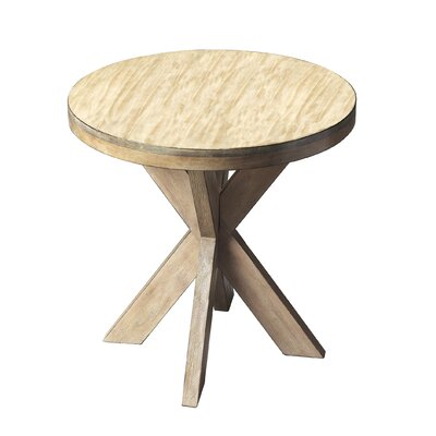 Rayne End Table Color: Driftwood
