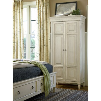 Sparling Armoire Finish: Cotton-hued