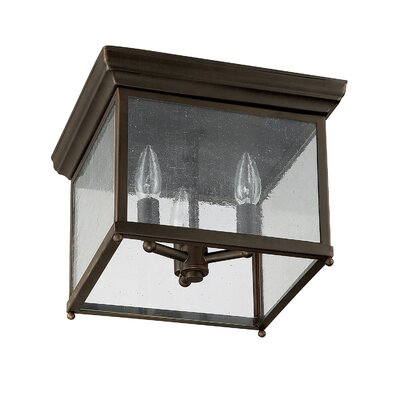 Cheever Rectangular Flush Mount
