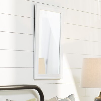 Yarrell Wall Mirror Finish: White