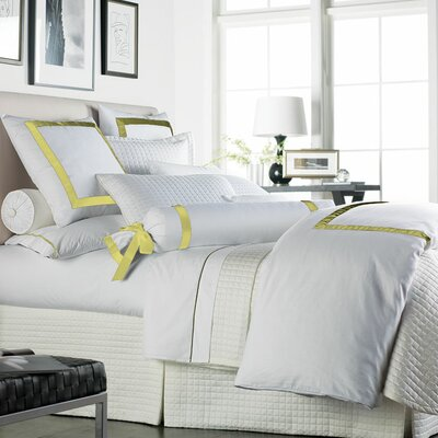 Celina Bedding 2 Piece 300 Thread Count Egyptian Quality Cotton Sheet Set Size: Queen, Color: White / Lemon