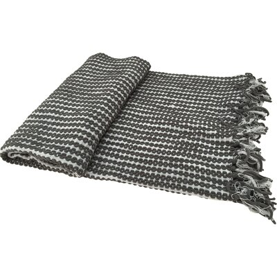 Shania Chenille Throw Color: Gray