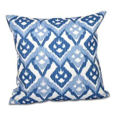 Raegan Outdoor Pillow Size: 20 H x 20 W, Color: Light Blue