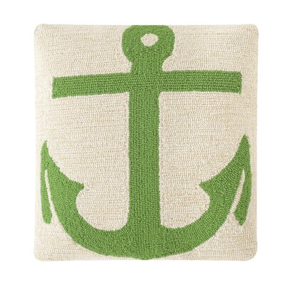 Captains Hooked Pillow Color: Sunshine Green