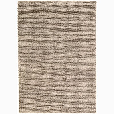 Tilby Hand-Woven Beige Area Rug Size: 79 x 106