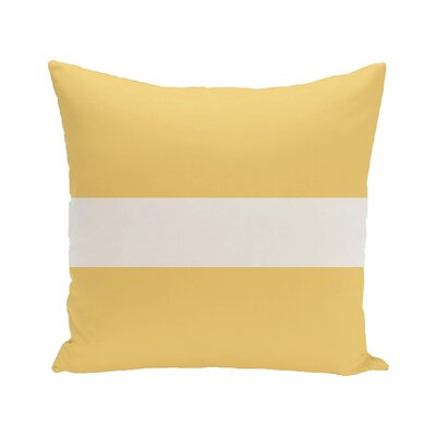 Addie Outdoor Pillow Color: Soft Lemon, Size: 18 H x 18 W x 1 D