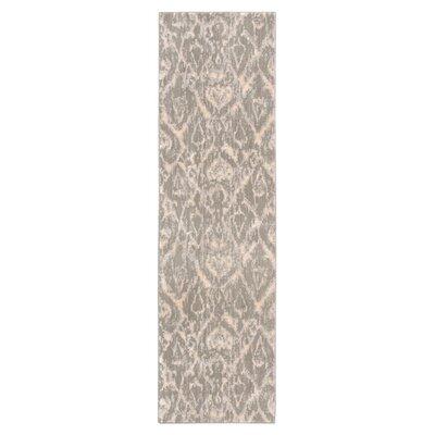 Cressida Stone Rug Size: Runner 23 x 8