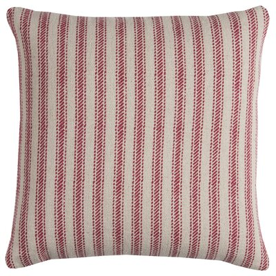 Connee Pillow Cover Color: Natural Red