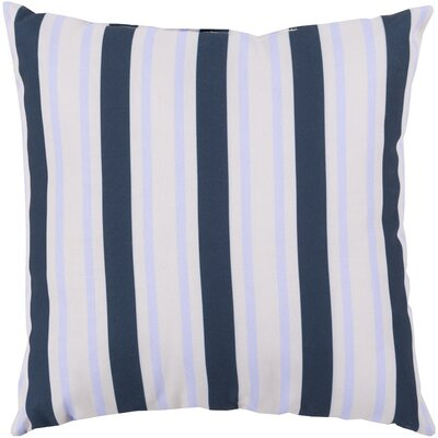 Pamela Outdoor Pillow Size: 18 W x 18 D, Color: Cobalt/Sky Blue