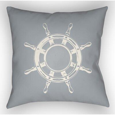 Castaway Outdoor Pillow Size: 20 H x 20 W x 5 D, Color: Blue