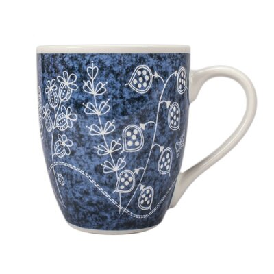 Summer Garden Coffee Mug (Set of 4)