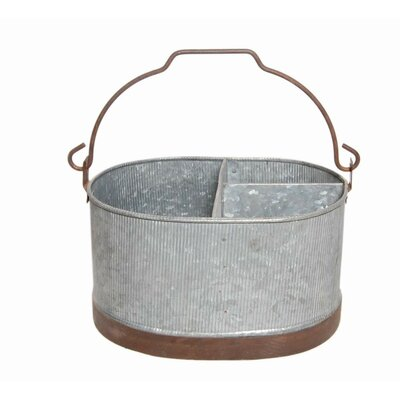 Lanesboro Metal Pot Planter