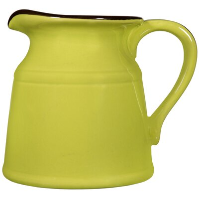 Maize Pitcher Size: Large, Color: White