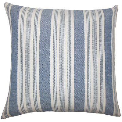 Carin Pillow Cover Color: Denim