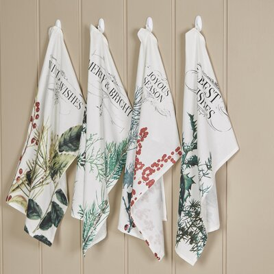 Winter Botanicals Kitchen Towels