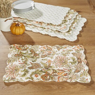 Tenby Reversible Placemats (Set of 6)