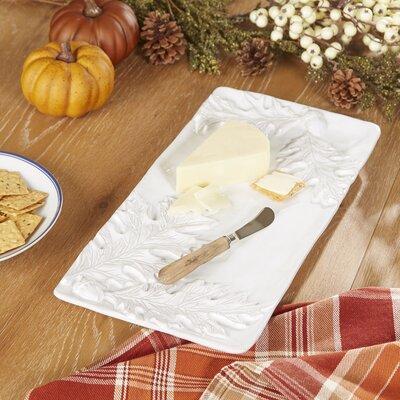 Oak Leaf Platter with Spreader
