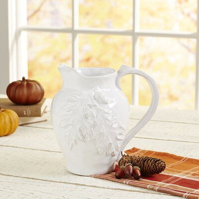 Oak Leaf Pitcher
