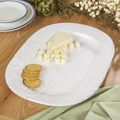 Ivory Hydrangea Platter