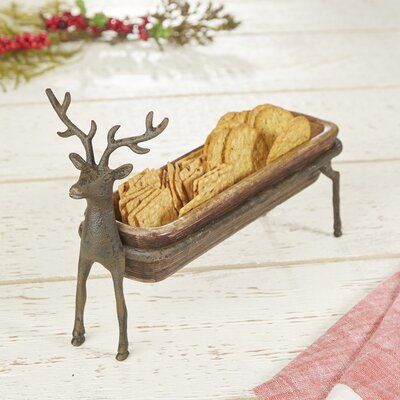 Woodland Metal Serving Tray