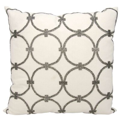Rosine Pillow Cover Color: Blue-Gray