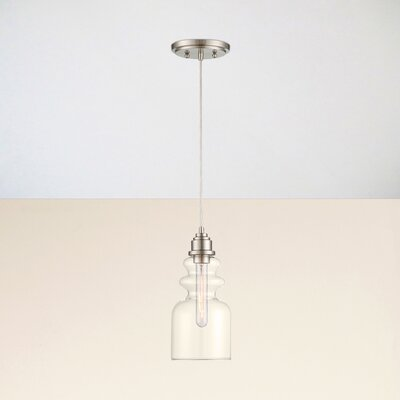 Reade Mini Pendant Finish: Brushed Nickel