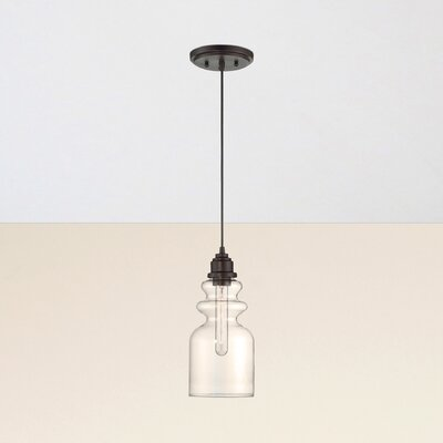 Reade Mini Pendant Finish: Oil Rubbed Bronze