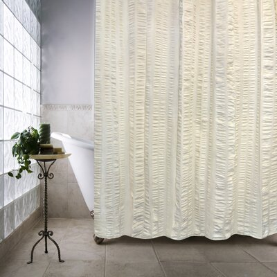 Ewen Shower Curtain Color: Natural