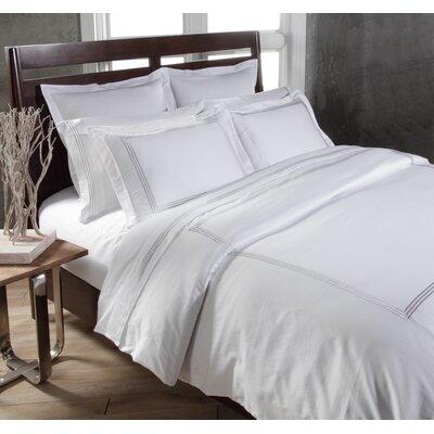 Tappen Duvet Set Color: White, Size: King