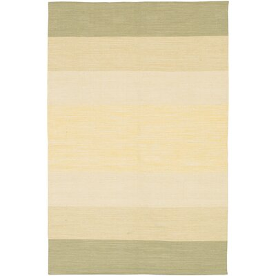 Jaya Parchment Hand-Woven Area Rug Rug Size: 5 x 76