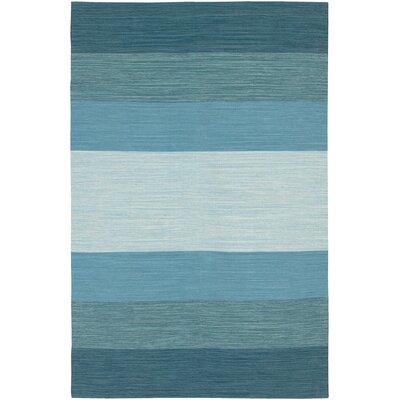Jaya Sky Hand-Woven Area Rug Rug Size: 36 x 56