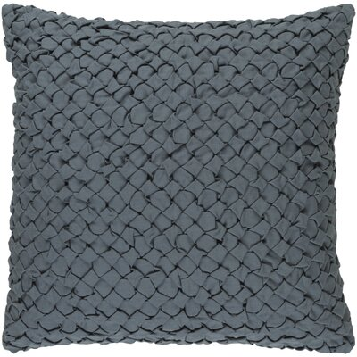 Margot Pillow Cover Size: 18 H x 18 W x 0.25 D, Color: Medium Gray