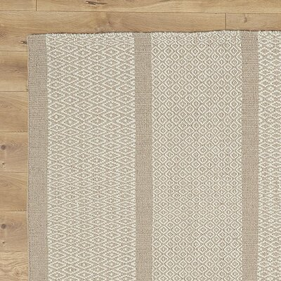Willard Hand-Woven Taupe Area Rug Rug Size: Rectangle 2 x 3