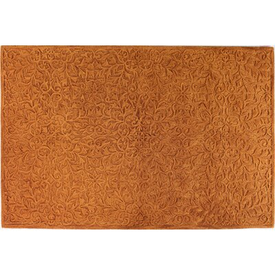 Naomi Rust Rug Rug Size: Rectangle 36 x 56