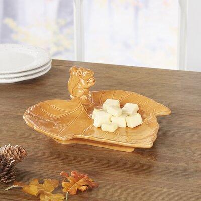 Busch 10.5 Butternut Leaf Plate
