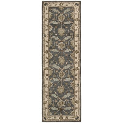 Constance Hand-Tufted Blue Area Rug Rug Size: Runner 23 x 76