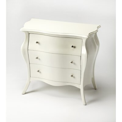Saldana Chest Finish: Glossy White