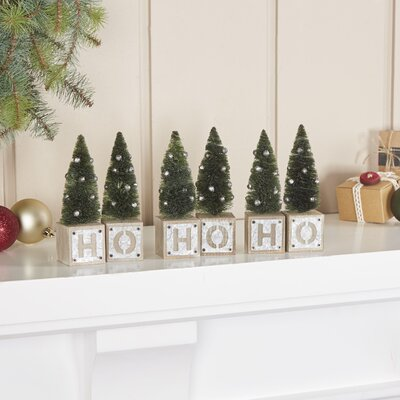 Galvanized Holiday Ho-Ho-Ho Blocks