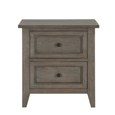 Carly 2 Drawer Nightstand