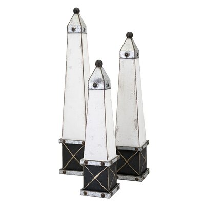 Stout Wooden Obelisks